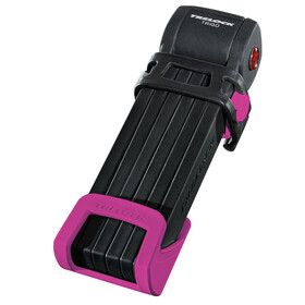 Trelock FS 300 Trigo Bike Lock incl. holder pink/black
